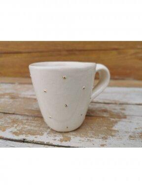 """Keraminis puodelis """"Karališkas"""" mažas"""