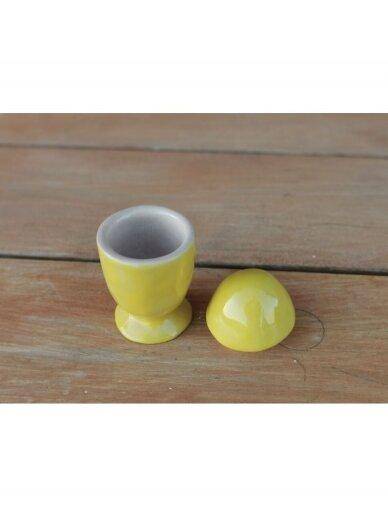 Linberžė kiaušinis geltonas (kiaušinio laikiklis) 3