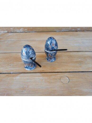 Linberžė kiaušinis margas su ertme šaukšteliui 2