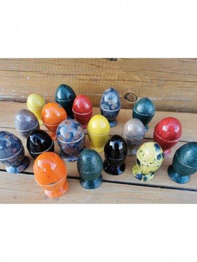 Linberžė kiaušinis našlaičių (kiaušinio laikiklis) 3