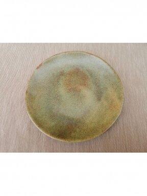 Sumatros žalia desertinė lėkštė